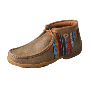 Women's  Aztec Striped Driving Moccasins