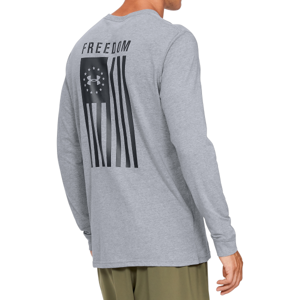 UA Freedom Flag Tactical Graphic Long Sleeve Tee