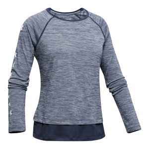 Girls'  UA Tech Long Sleeve Shirt