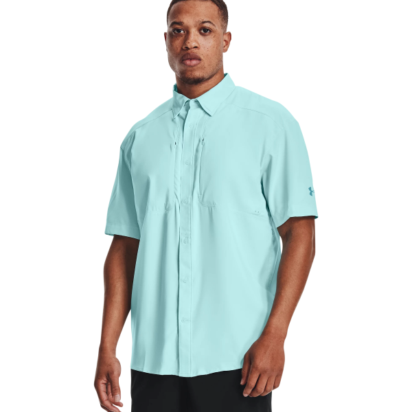 Short Sleeve UA Tide Chaser 2.0 Button Down Shirt