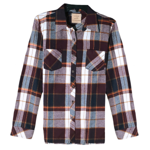 Women's  Flannel Plaid Button Up Shirt