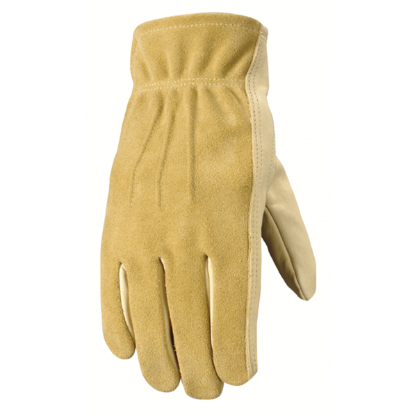 Grain Cowhide Unlined Leather Glove