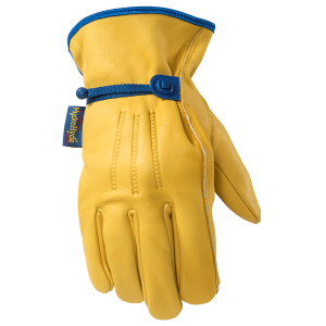 Men's  HydraHyde Grain Cowhide Glove with Adjustable Wrist