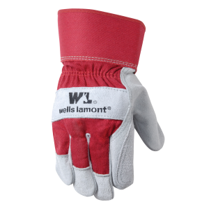 Men's  Double Leather Palm Glove