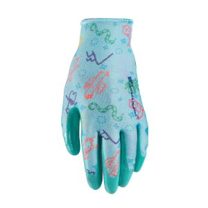 Kids'  Nitrile Coated Polyester Gloves