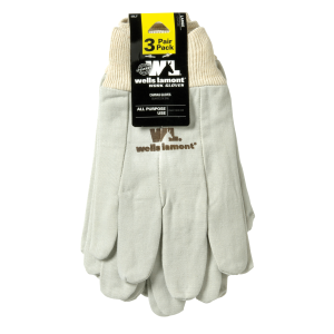 Men's  Canvas Glove - 3 Pack