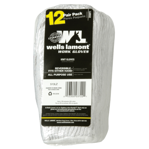 Knit Glove - 12 Pack