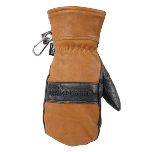 Men's  HydraHyde Insulated Black Grain Goatskin Mitten