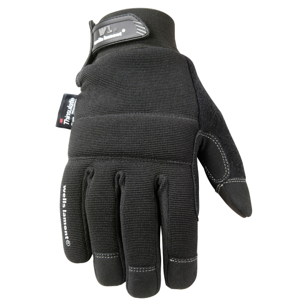 Insulated Synthetic Leather Glove