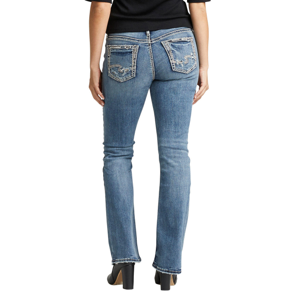 Elyse Mid Rise Boot Cut Jean