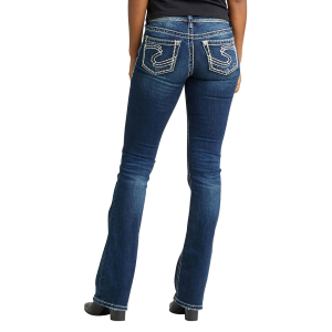 Women's  Suki Mid Indigo Boot Cut Jean