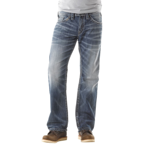 Men's  Relaxed Fit Straight Leg Zac Light Wash Jean