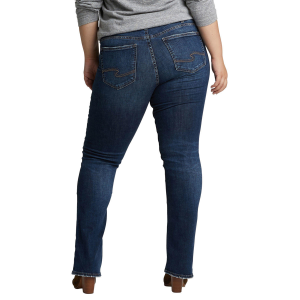 Women's  Suki Plus Size Mid Rise Slim Boot Cut Jean