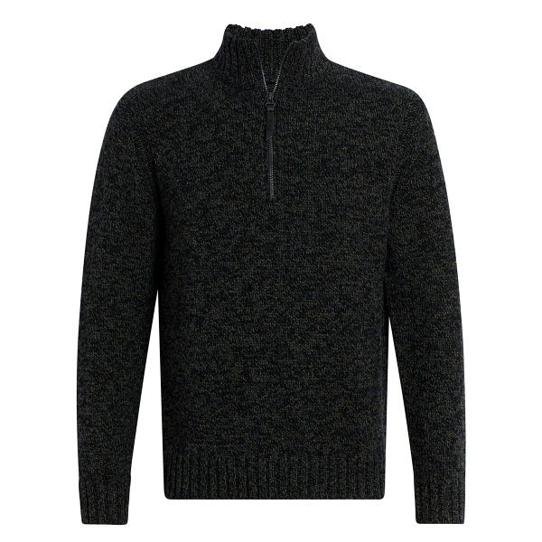 Eco Rich Woodward Half Zip Sweater
