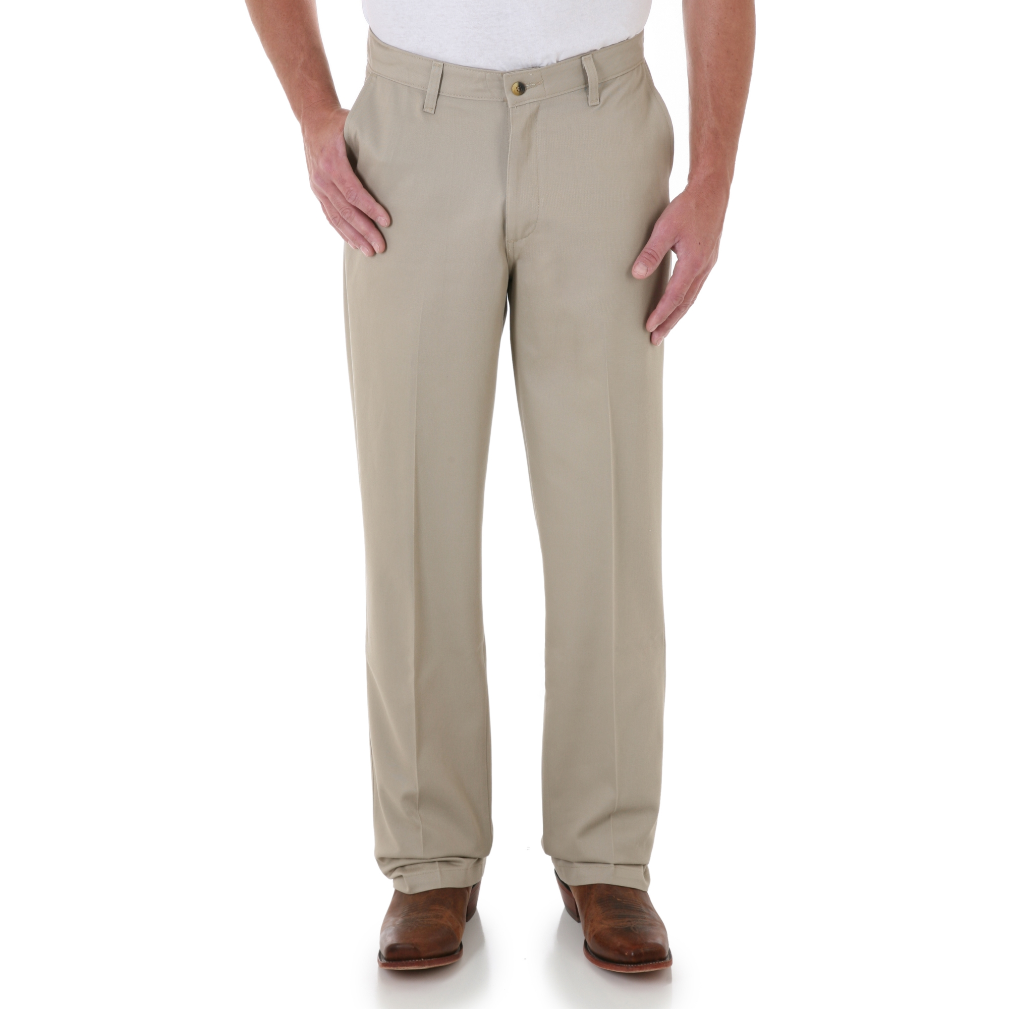 76d730b9 Murdoch's – Wrangler - Men's Riata Flat Front Relaxed Fit Casual Pant