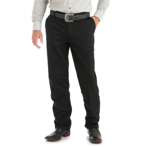Men's  Flat Front Western Casual Pant
