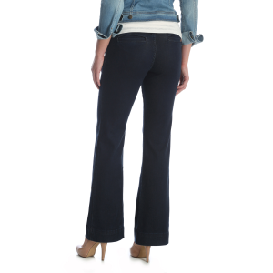 Women's  Retro Mae Mid-Rise Wide Leg Trouser Jean