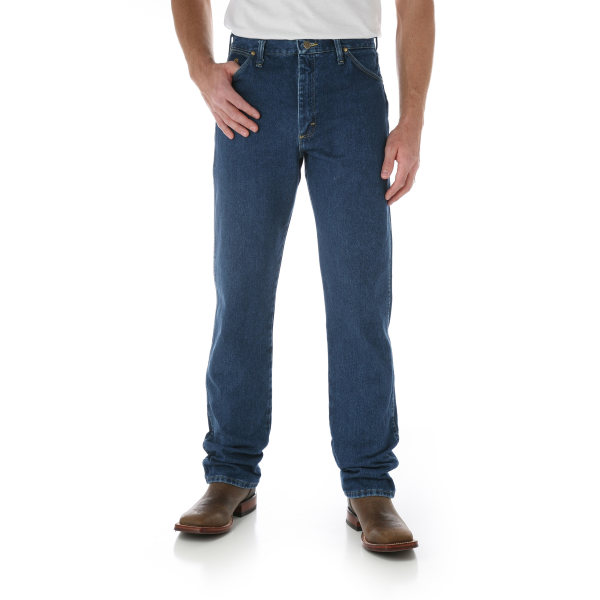 George Strait Cowboy Cut Original Fit Jean - Heavyweight Stone Denim