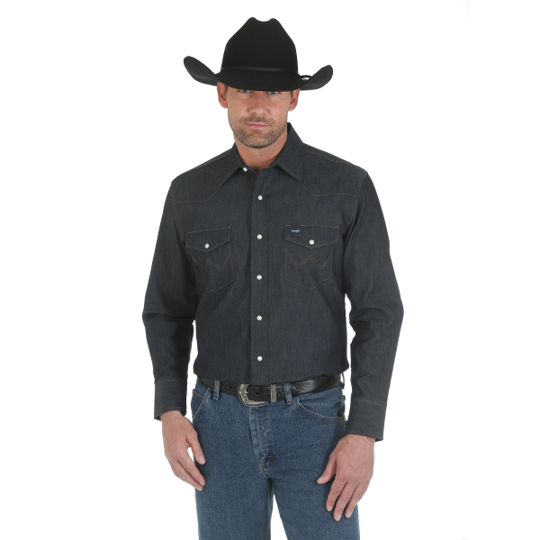 Advanced Comfort Denim Work Shirt