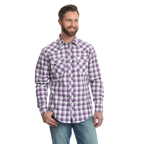 20X Competition Advanced Comfort Plaid Button Down Shirt