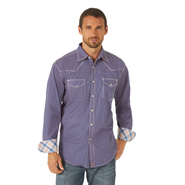 20X Competition Advanced Comfort Printed Snap Shirt
