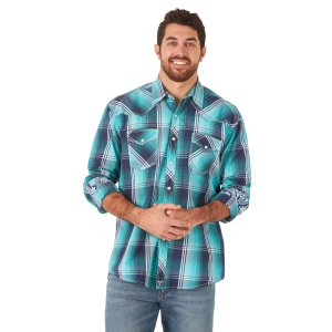 Men's  20X Competition Advanced Comfort Plaid Long Sleeve Snap Shirt