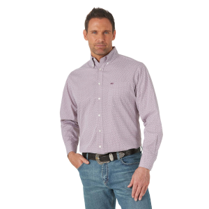 Men's  20X Competition Performance Long Sleeve Print Shirt