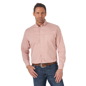 Men's  20X Competition Performance Long Sleeve Plaid Shirt