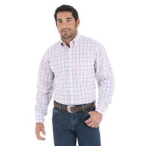 Men's  Tough Enough To Wear Pink Long Sleeve Shirt