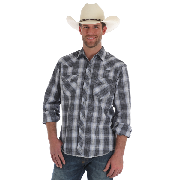 Long Sleeve Fashion Snap Shirt