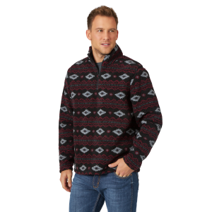 Men's  Sherpa Quarter Zip Pullover