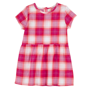 Girls'  Infant/Toddler Pink Plaid Dress
