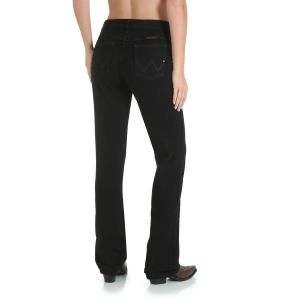 Women's  Ultimate Riding Jean Q-Baby - Black Magic