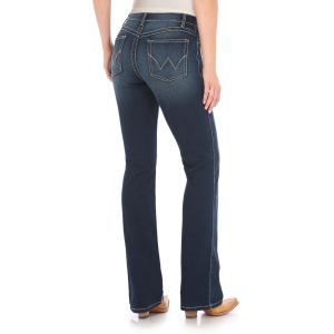 Women's  Ultimate Riding Q-Baby Boot Cut Jean - NR Wash