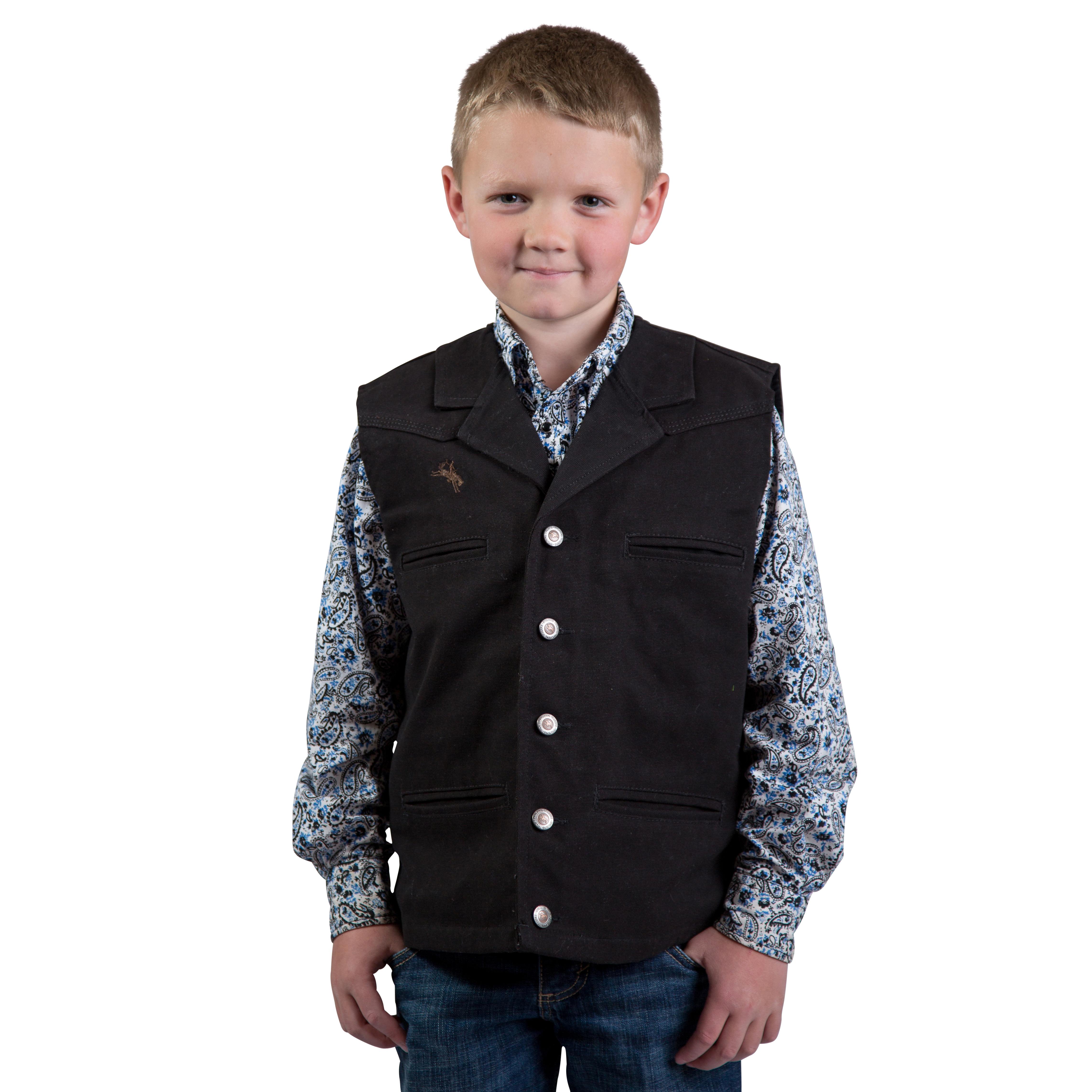 Wyoming Traders Bronco Canvas Vest