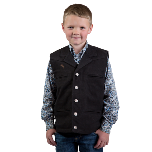 Boys'  Bronco Canvas Vest
