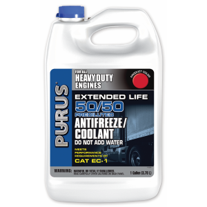 Purus Heavy Duty Extended Life 50/50 Prediluted Antifreeze/Coolant