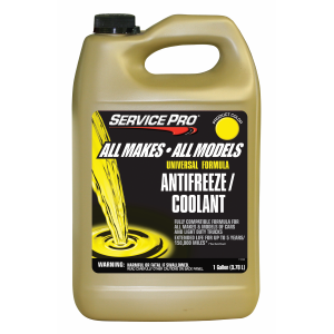 Service Pro All Makes/All Models Universal Formula Antifreeze/Coolant
