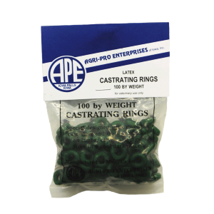 Castrating Bands/Rings - 100 Pack