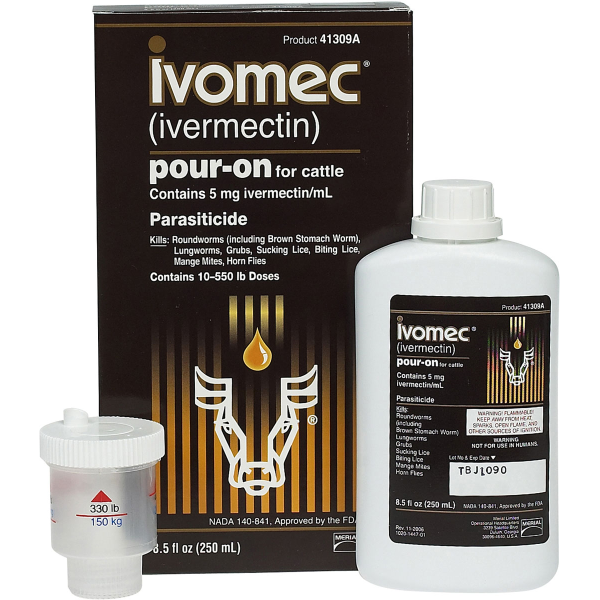 Ivomec® Pour-On Parasiticide for Cattle