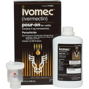 Ivomec Pour-On Parasiticide for Cattle