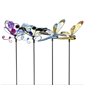 Colorful Insect Garden Stake - Assorted