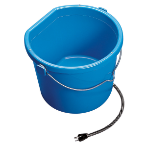 Heated 5 Gallon Flat-Back Bucket