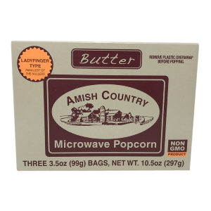 3 Pack Microwave Butter Popcorn
