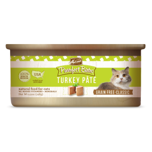 Purrfect Bistro Grain Free Turkey Pate Canned Cat Food
