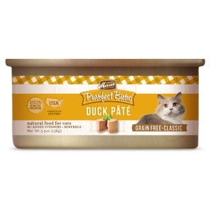 Purrfect Bistro Grain Free Duck Pate Canned Cat Food