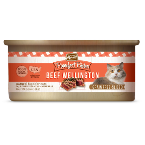 Purrfect Bistro Grain Free Beef Wellington Canned Cat Food