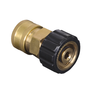 "3/8"" Quick Disconnect Socket x Female Metric Pressure Washer Adapter"