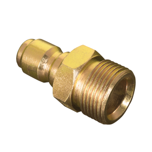 "Male Metric x 3/8"" Quick Disconnect Plug Pressure Washer Adapter"