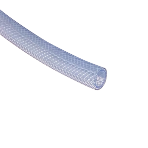 "1/8"" Wall Reinforced Clear Vinyl Tubing - Sold by the Foot"
